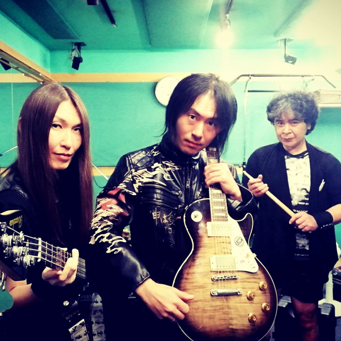 We are a Japanese Metal band!